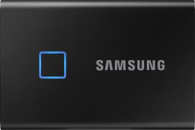 Samsung Portable SSD T7 Touch schwarz 1TB, USB-C 3.1 (MU-PC1T0K)