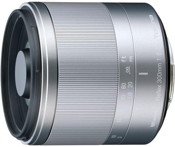 Tokina Reflex 300mm 6.3 MF Makro für Micro-Four-Thirds silber