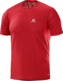 Salomon Trail Runner running shirt short-sleeve barbados cherry (men) (400997)