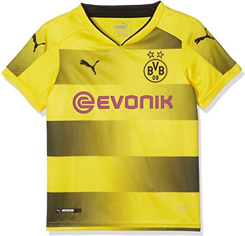 Puma BVB Borussia Dortmund Heimtrikot Shirt kurzarm 2017/2018 (Junior) -- via Amazon Partnerprogramm