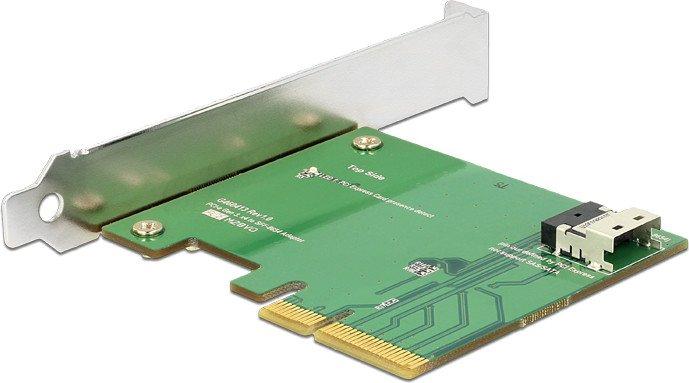DeLOCK PCI Express Card > 1 x internal SFF-8654 4i NVMe (89585)