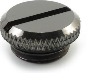 """XSPC plug G1/4"""" Black chrome V2, chrome-plated"""