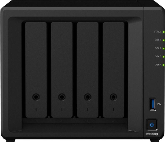 Synology DiskStation DS918+ 48TB, 4GB RAM, 2x Gb LAN