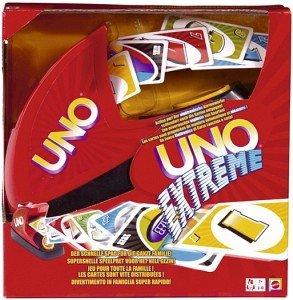 Spaß Spiel Mattel Kartenspiel Unterhaltung V9364 UNO Extreme