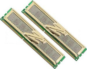 OCZ Gold DIMM Kit 4GB, DDR3-1333, CL9-9-9-26 (OCZ3G13334GK)