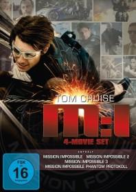 Mission Impossible Box (Filme 1-4) (DVD)