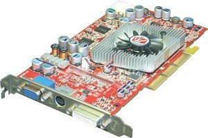 HIS Excalibur Radeon 9800 Pro, 256MB DDR2, DVI, TV-out, AGP (ZAM-98PP-3I)