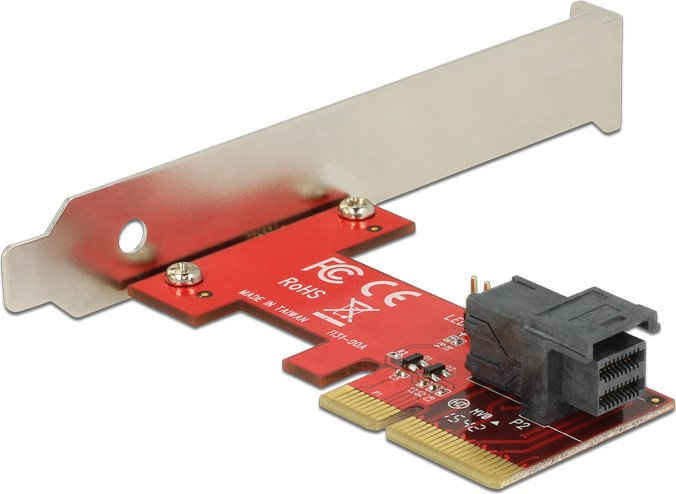 DeLOCK PCI Express Card > 1 x internal SFF-8643 NVMe (89535)
