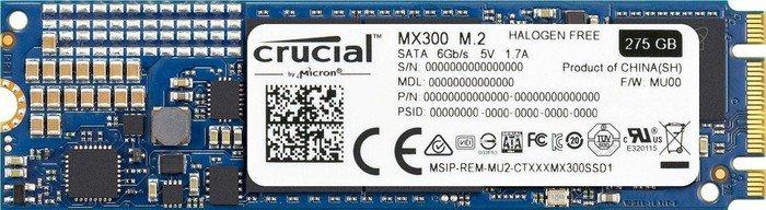 Crucial MX300 275GB, M.2 (CT275MX300SSD4)