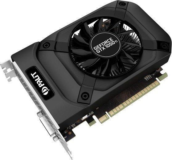 Palit GeForce GTX 1050 Ti StormX, 4GB GDDR5, DVI, HDMI, DP (NE5105T018G1F)