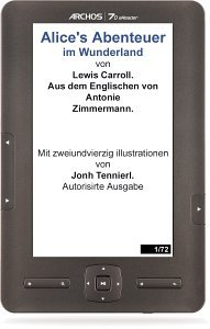 Archos 70 eReader, eBook Reader