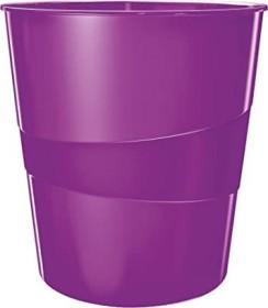 Leitz WOW Papierkorb rund, violett (52781062)