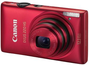 Canon Digital Ixus 220 HS red (5100B007)