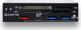 Chieftec Internal Multi-Slot-Cardreader, USB 3.0 19-Pin Stecksockel [Stecker] (CRD-901H)