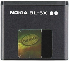 Nokia BL-5X rechargeable battery (0279012)