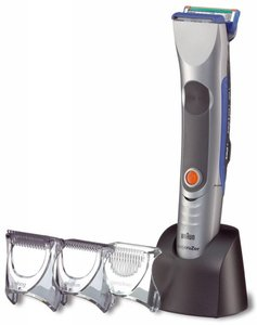 Braun B55 BodycruZer hair trimmer/precision trimmer rechargeable battery operation