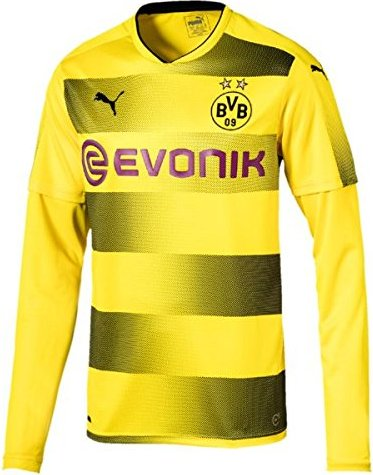 watch d5902 18c7e Puma BVB Borussia Dortmund home shirt long-sleeve 2017/2018 (men) from £  24.90