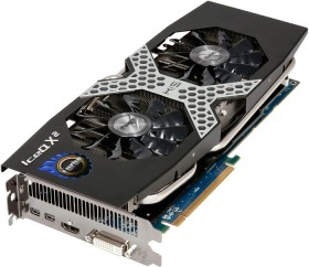 HIS Radeon R9 280X iPower IceQ X² Turbo Boost Clock, 3GB GDDR5, DVI, HDMI, 2x mDP (H280XQMT3G2M)