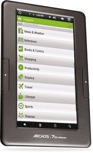 Archos 70b eReader, eBook Reader