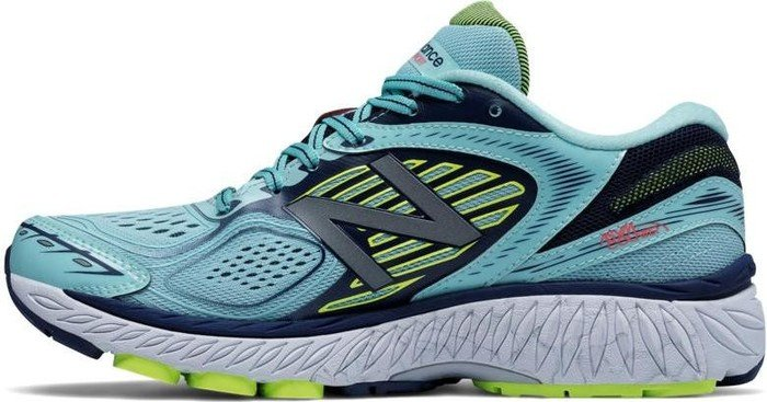 672920154e57 New Balance 860 V7 ozone blue lime glo (ladies) starting from ...