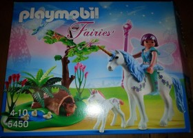 playmobil Fairies - Fee Aquarella auf der Einhorn-Lichtung (5450)