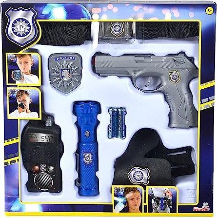 Simba Toys Polizei Streife Gürtelset (108102667) -- via Amazon Partnerprogramm