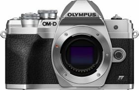 Olympus OM-D E-M10 Mark IV silber Gehäuse (V207130SE000)