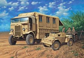 Revell Monty's Caravan Leyland Retriever & Scout Car (03227)