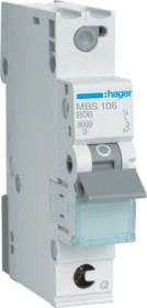 Hager Leitungsschutzschalter (MBS106)