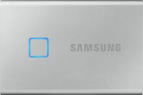 Samsung Portable SSD T7 Touch silber 500GB, USB-C 3.1 (MU-PC500S)