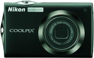 Nikon Coolpix S4000 schwarz (VMA531E1)