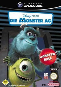 Die Monster AG - Monster-Ball (niemiecki) (GC)