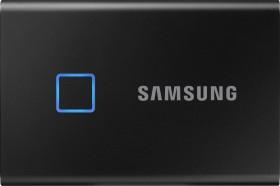 Samsung Portable SSD T7 Touch schwarz 500GB, USB-C 3.1 (MU-PC500K)