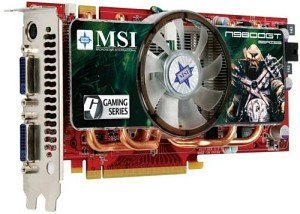 MSI NX9800GT-T2D512E-OC, GeForce 9800 GT, 512MB DDR3, 2x DVI, TV-out (V146-005R)
