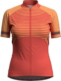 Odlo Zeroweight Ceramicool Trikot kurzarm hot coral/papaya (Damen) (411711-30658)