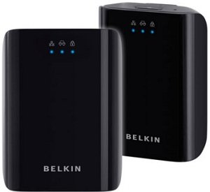 Belkin Play Powerline HD Dual pack, 1000Mbps, Gb LAN (F5D4078de)
