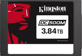 Kingston DC500M Data Center Series Mixed-Use SSD - 1.3DWPD 3.84TB, SED, SATA (SEDC500M/3840G)