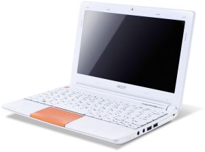 Acer Aspire One Happy 2, Atom N570, Bluetooth, non-glare, orange, UK (LU.SG10D.082)