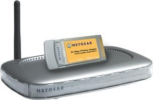 Netgear WGB511, Notebook Starter Kit, 54Mbps