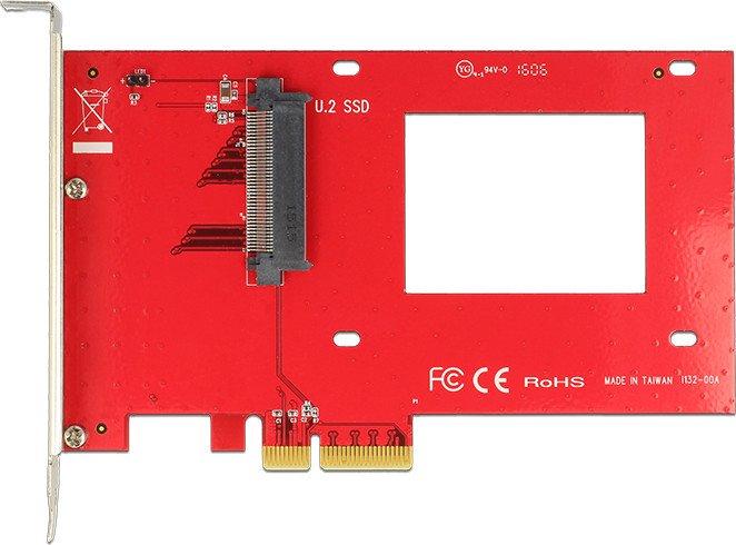 DeLOCK PCI Express Card > 1 x internal U.2 SFF-8639 NVMe (89469)