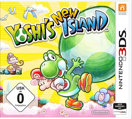 Yoshi's New Island (deutsch) (3DS)