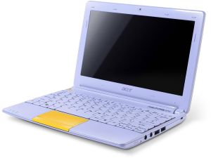 Acer Aspire One Happy 2, Atom N570, Bluetooth, non-glare, yellow, UK (LU.SG00D.014)