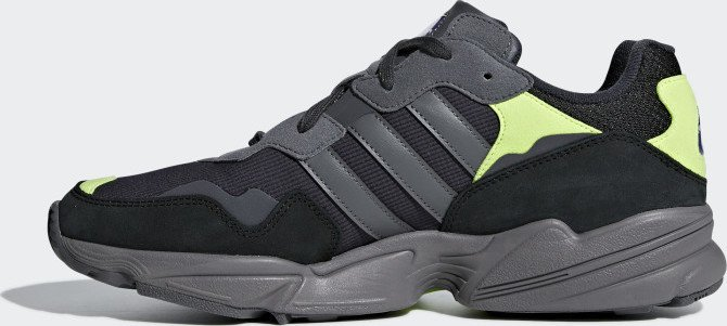adidas Yung-96 carbon/grey four/solar