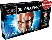 Guillemot / Hercules 3D Prophet 9000 Pro, Radeon 9000 Pro, 128MB DDR, DVI, TV-out, AGP, bulk (275/275MHz) (4860251)