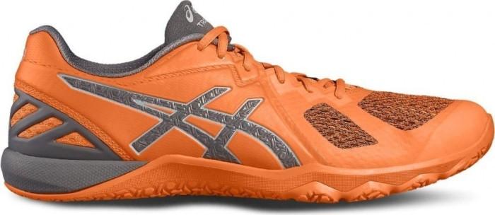 Asics Conviction X shocking orange/carbon/midgrey (Herren) (S703N-3097) -- ©keller-sports.de