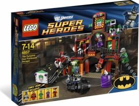 LEGO DC Universe Super Heroes - Die Dynamische Duo Funhouse Flucht (6857)