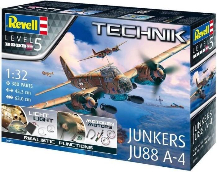Revell Technik Junkers Ju88 A-4 (00452)
