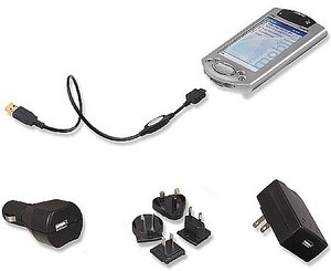 Belkin USB-Travel supply kit for HP iPAQ (F8Q2001ea)