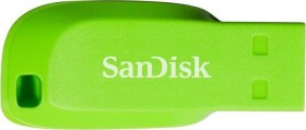 SanDisk Cruzer Blade grün 32GB, USB-A 2.0 (SDCZ50C-032G-B35GE)