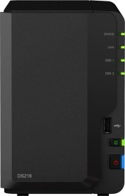 Synology DiskStation DS218 12TB, 1x Gb LAN